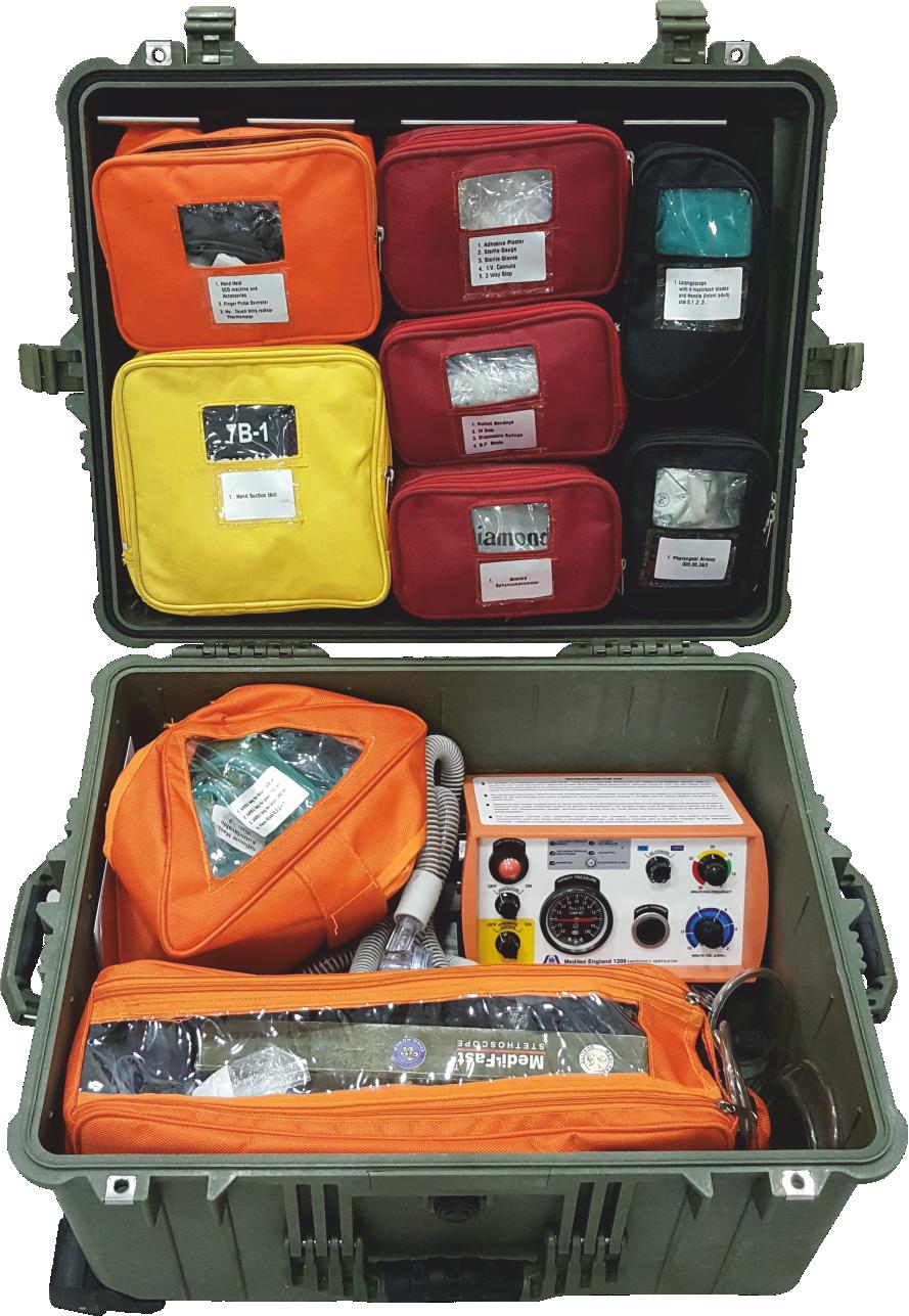Allied 777 Emergency Resuscitation Kit