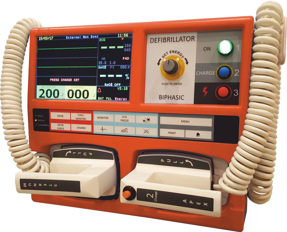 Allied Cardiasafe Defibrillator